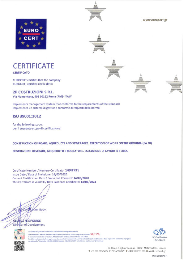 2P-certificato-39001-2012